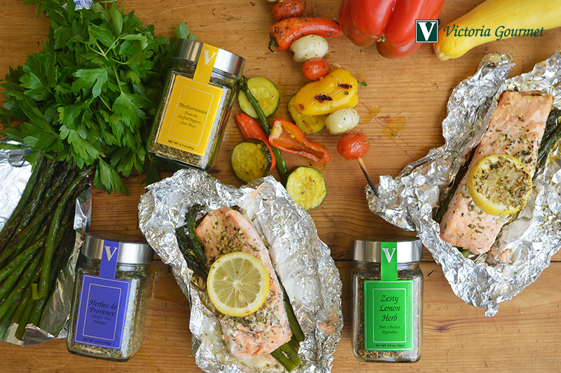 3 three ingredient vegetable foil victoria gourmet recipe