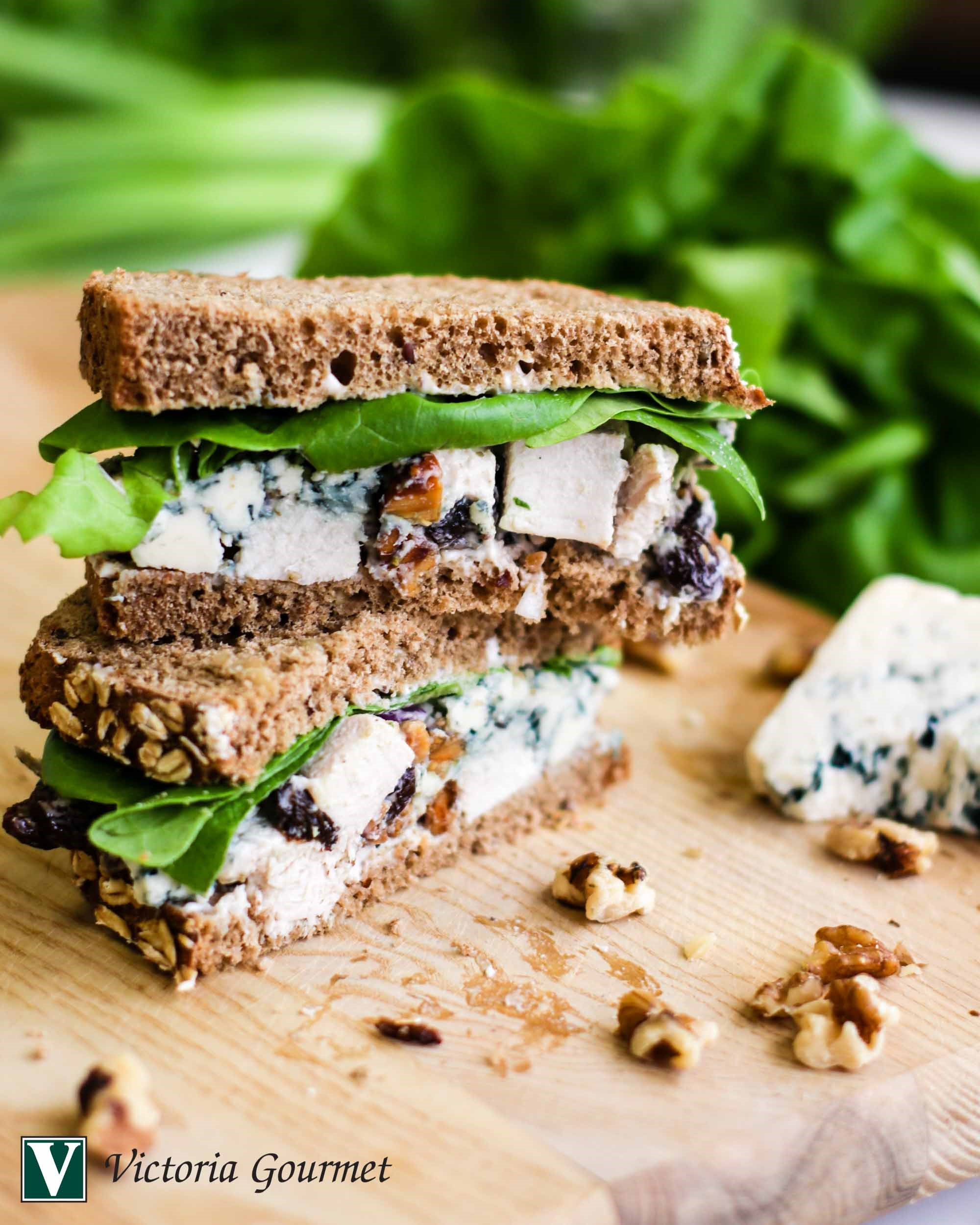 chicken salad blue cheese turkey rub spices victoria gourmet recipe