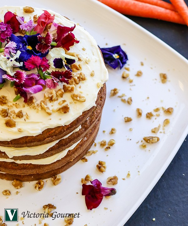 ultimate carrot cake cinnamon spices victoria gourmet recipes