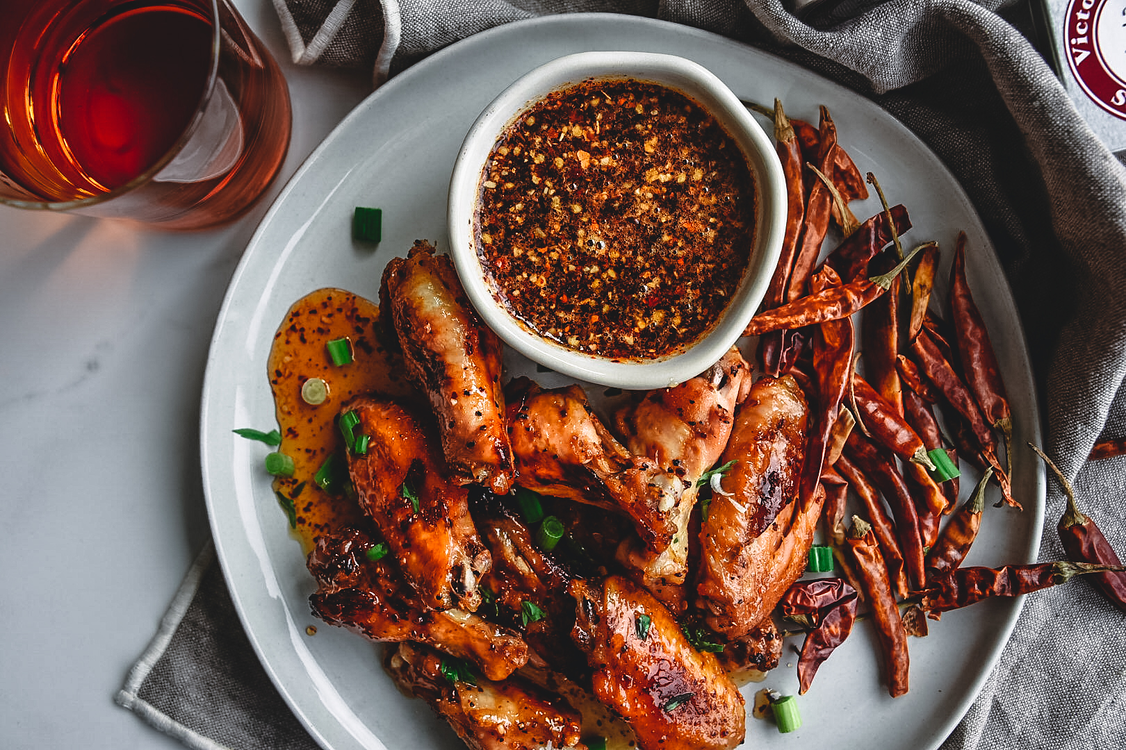 chicken wings honey aleppo pepper seasoning victoria gourmet recipe