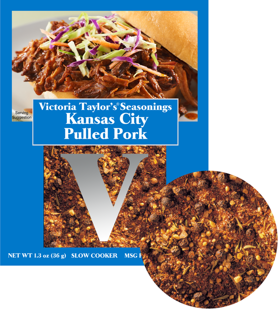 kansas city pulled pork black pepper victoria taylor