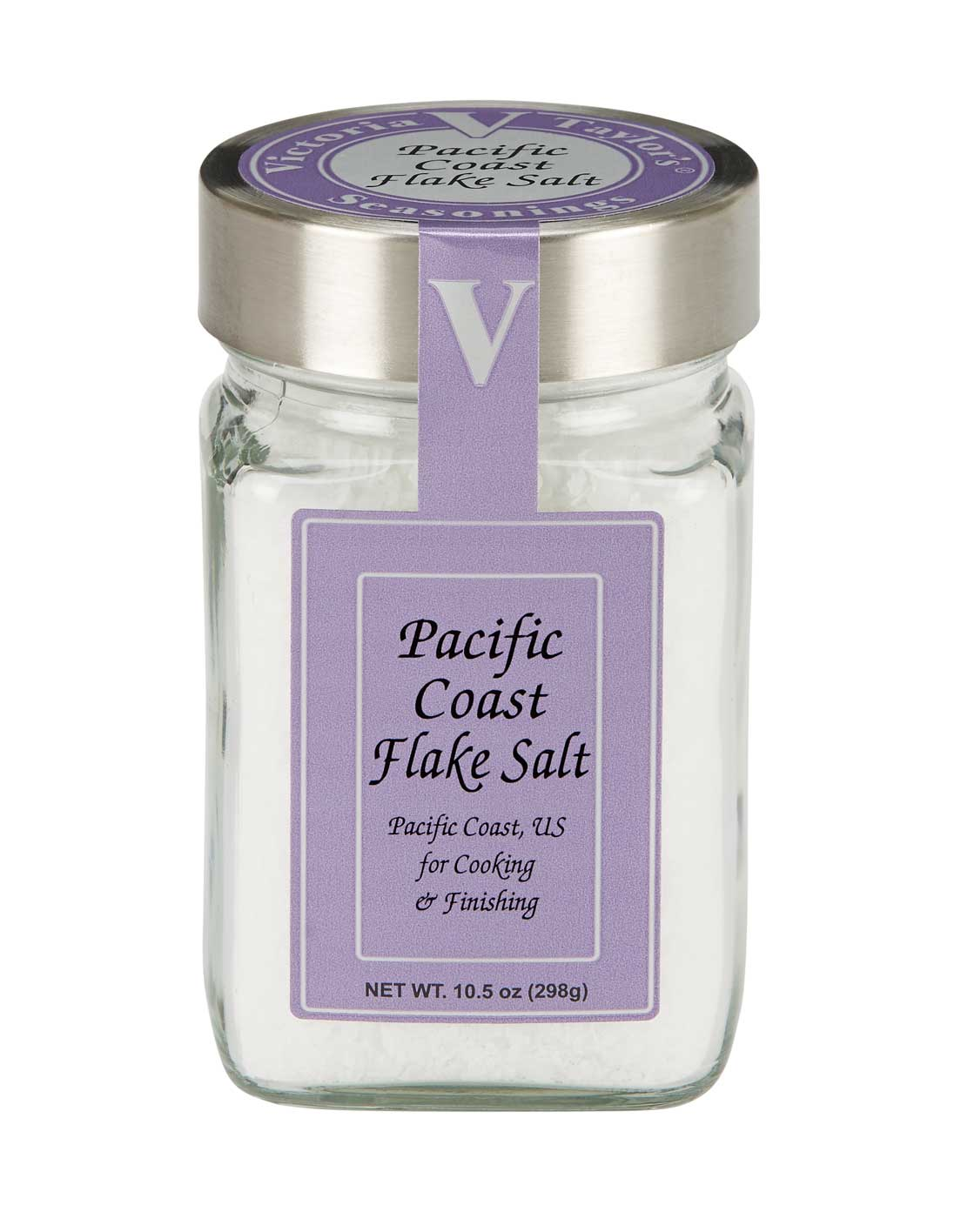 pacific coast flake white salt victoria taylor