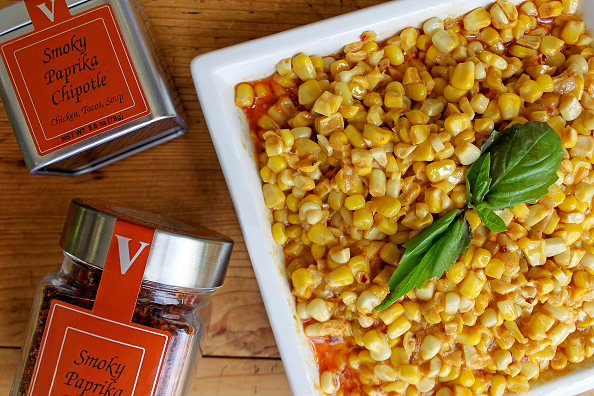 paprika chipotle corn risotto seasoning victoria gourmet recipes