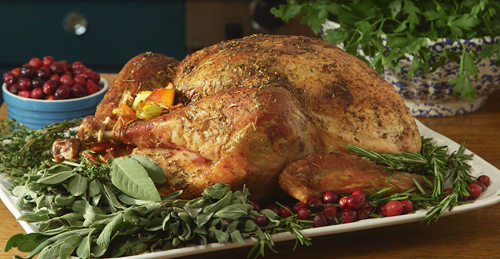 sage garlic roast turkey rub seasoning victoria gourmet recipes