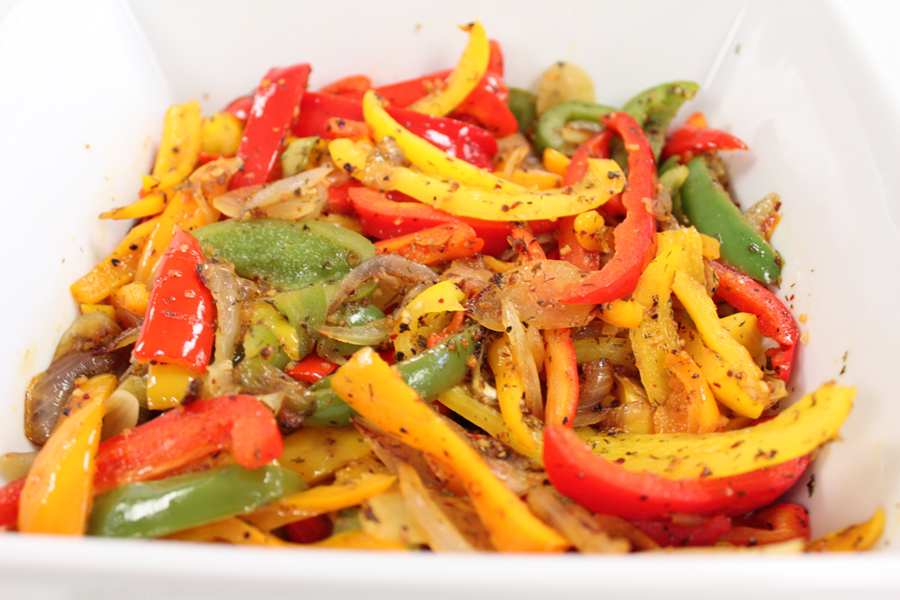zesty lemon herb peppers onions victoria gourmet recipes