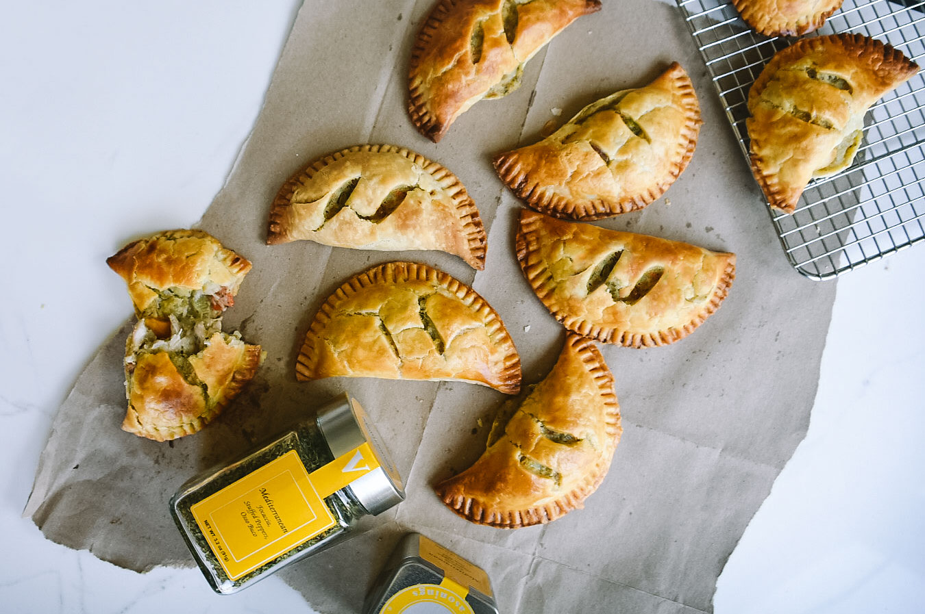 chicken pot hand pies hot comforting victoria gourmet recipe