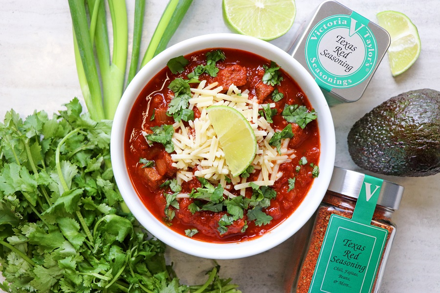 texas red chili seasoning victoria gourmet recipes