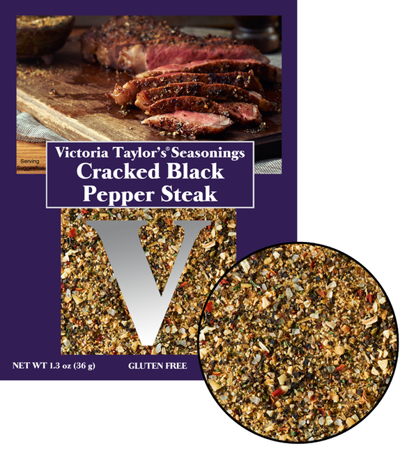 black pepper cracked steak victoria taylor