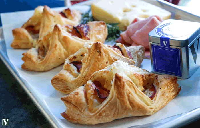 ham cheese turnover herbes de providence spices victoria gourmet recipe