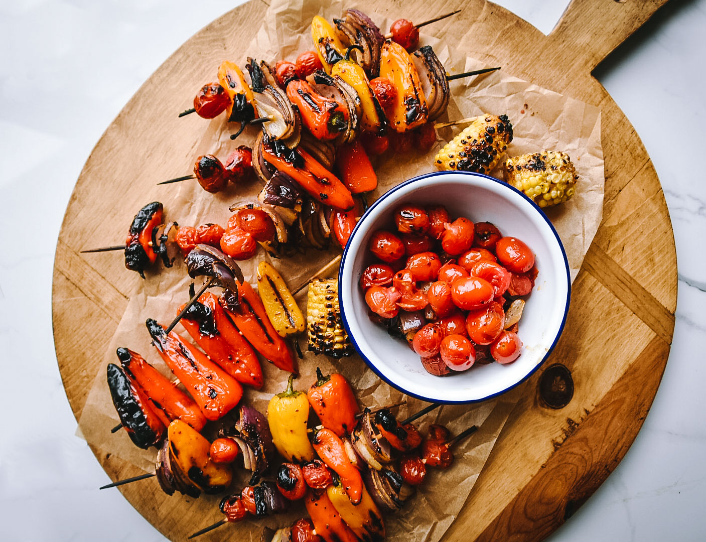 grilled veggies honey aleppo pepper spicy sweet victoria gourmet recipe