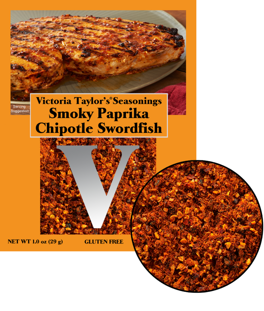 paprika chipotle smoky swordfish recipe seasoning victoria taylor