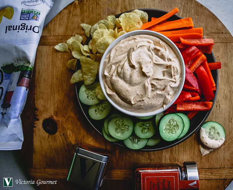 smoky paprika chipotle dip seasoning victoria gourmet recipes