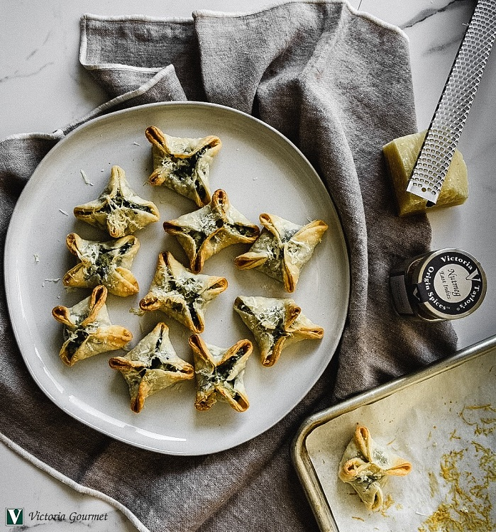 spinach artichoke wontons nutmeg spices victoria gourmet recipes