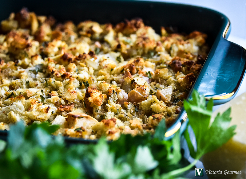 quick apple parmesan stuffing turkey rub victoria gourmet recipes