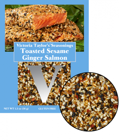 sesame ginger toasted seasoning seeds victoria taylor