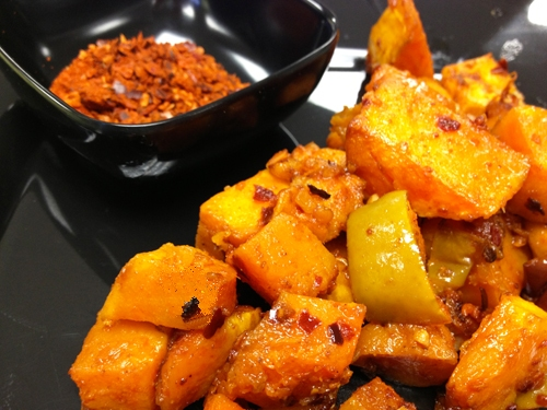 Smoky Butternut Squash with Apples
