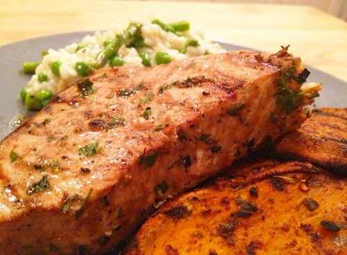 Grilled Swordfish with Victoria Taylor's Cinnamon Chile Rub