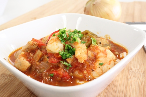 Gumbo with Victoria Taylor's New Orleans Seasoning