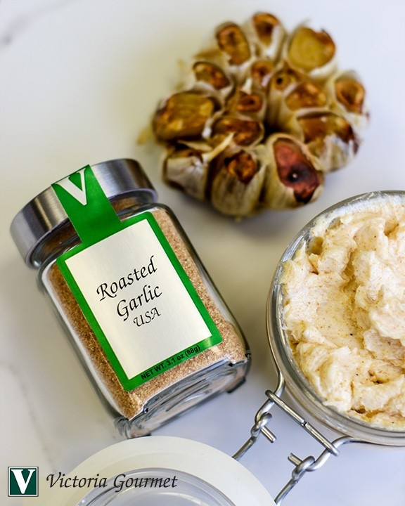 roasted garlic butter seasoning spices victoria gourmet recipes