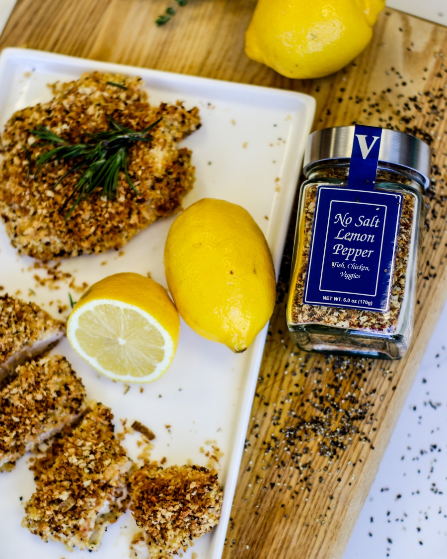 oven-fried lemon pepper chicken breast victoria gourmet recipe
