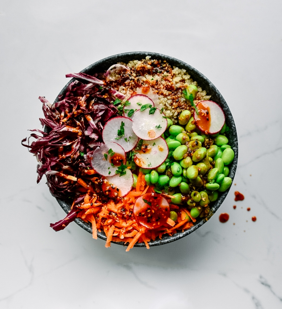 toasted sesame ginger buddha bowl spices victoria gourmet recipes