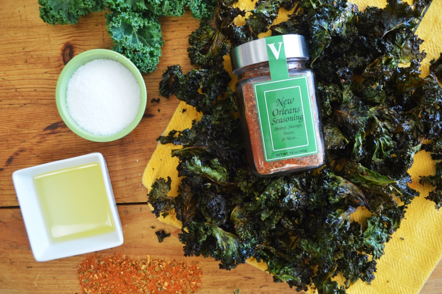 Spicy Kale Chips