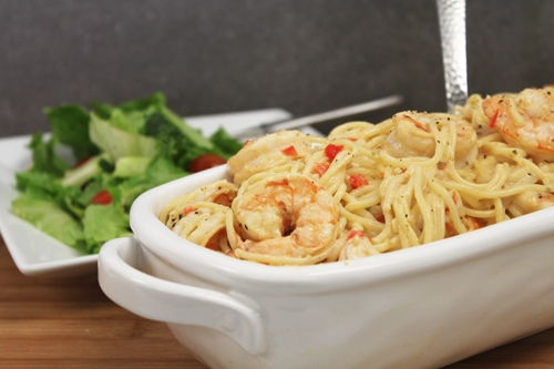 Pasta & Shrimp with Victoria Taylor's Ginger Citrus Seasoning