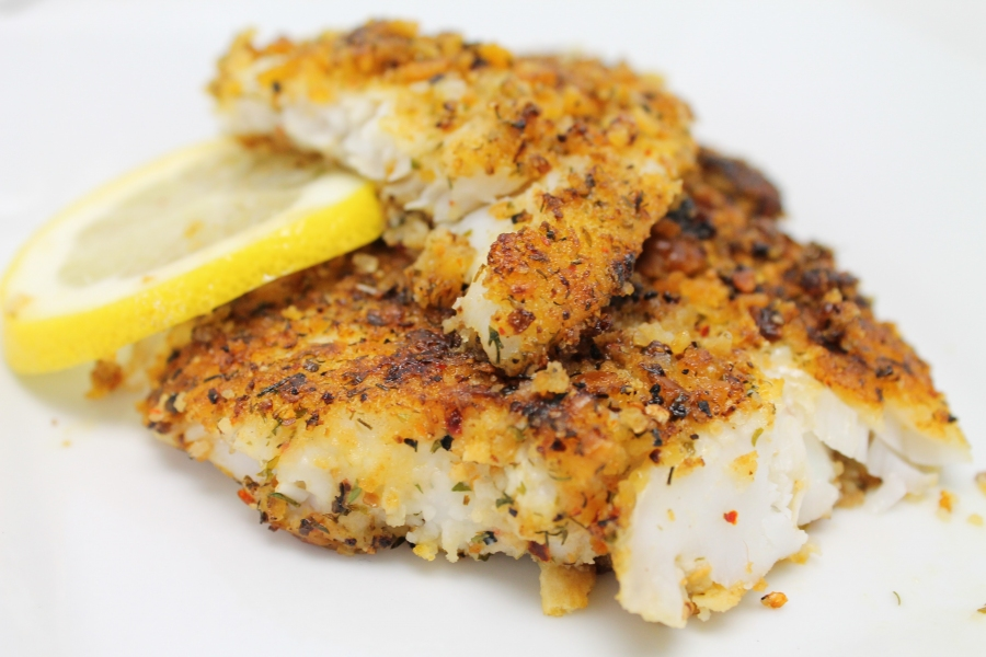 Zesty Lemon White Fish Fillets