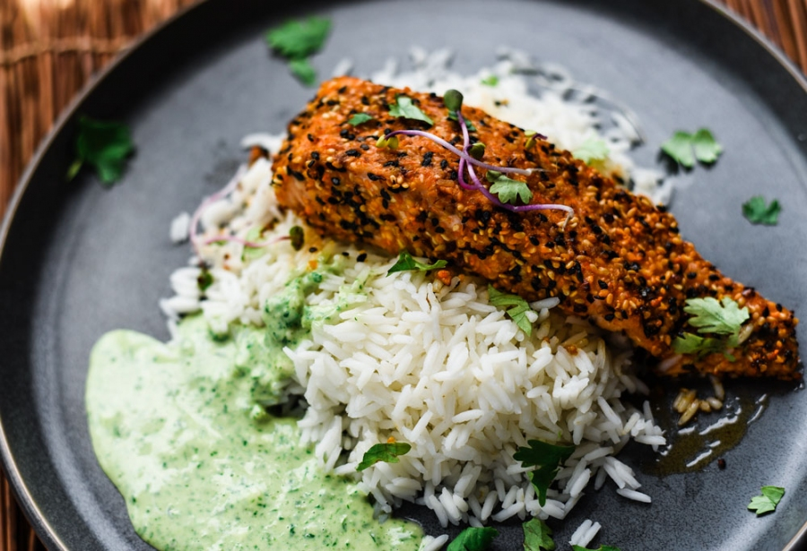toasted sesame ginger salmon spices victoria gourmet recipes