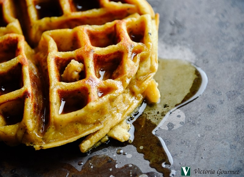 leftover mashed potato waffles seasoning spices victoria gourmet recipe