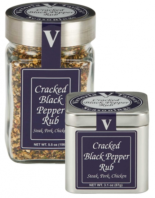 black pepper onion garlic cracked victoria taylor