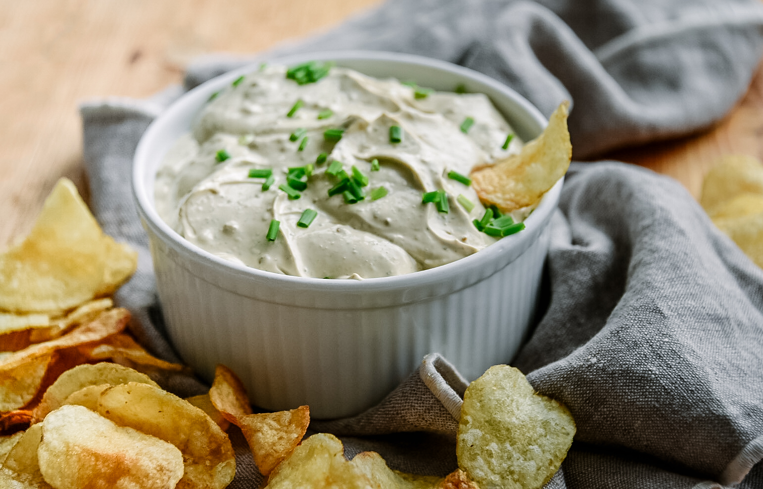 toasted onion dip herb spices victoria gourmet recipes