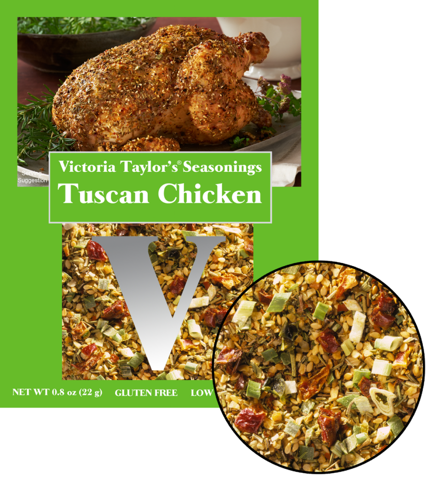 tuscan chicken recipe packet seasoning garlic victoria taylor